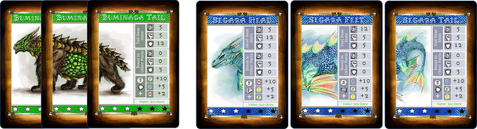 Land dragons are unique in that they are made up of three different parts combined to make one monster. Players must battle each part to defeat the dragon