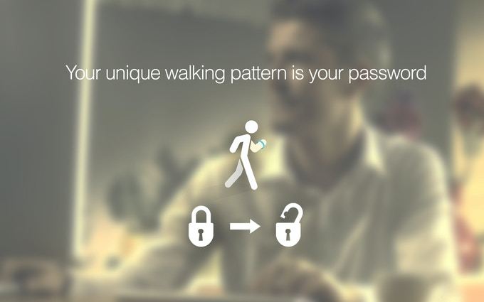 Your Unique Walking is Your Password