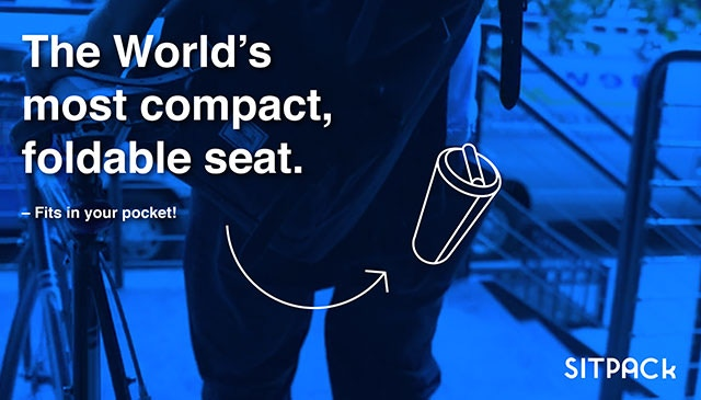 The World's Most Compact Foldable Seat