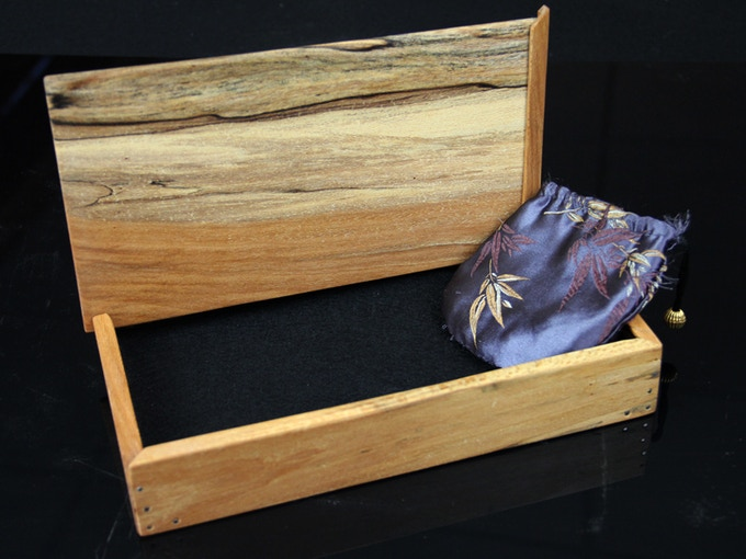 SPALTED SYCAMORE. A beautiful piece of sycamore with high profile spalting throghout.