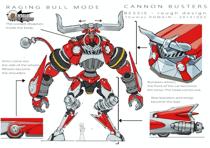 Cannon Busters The Animated Series Pilot By Makestuff Llc