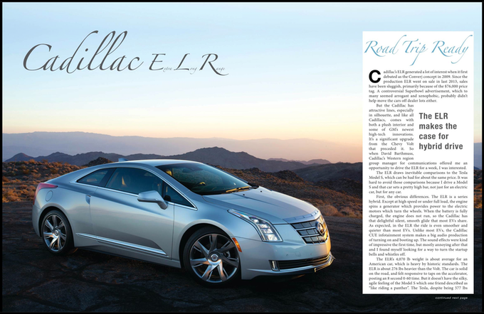 Cadillac ELR Review