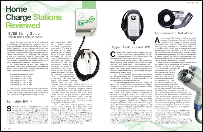 Home Charging Systems Review