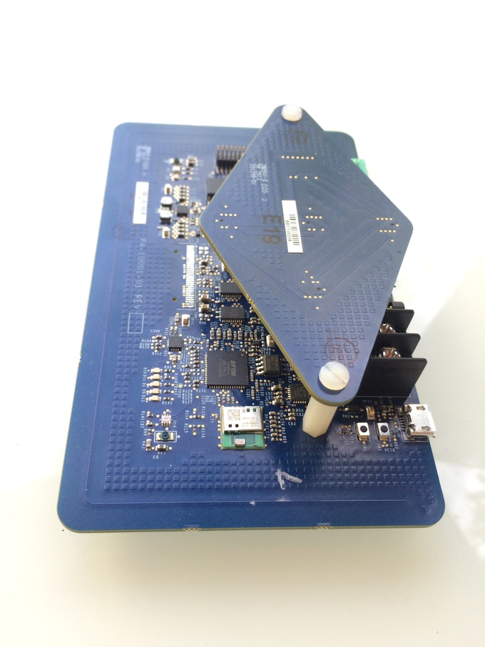 V0.1 of the DRIVE main board and the mics