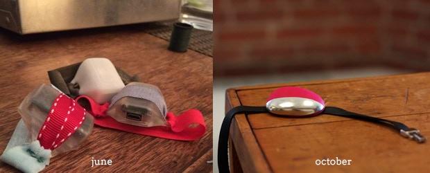 Beta Hero design at left. Current Magnet design at right