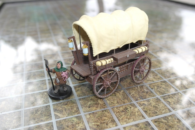 The complete Covered Wagon.