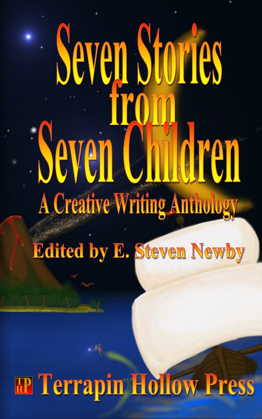 The cover of the pilot book, Seven Stories from Seven Children
