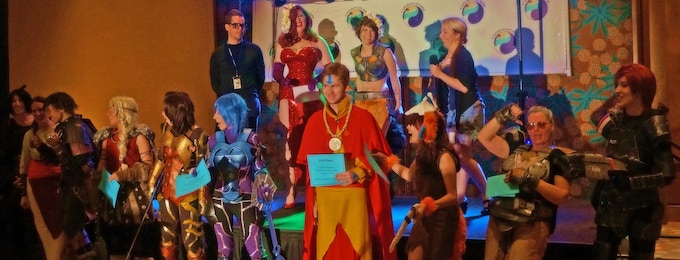 Winners of the HawaiiCon 2014 Cosplay Contest