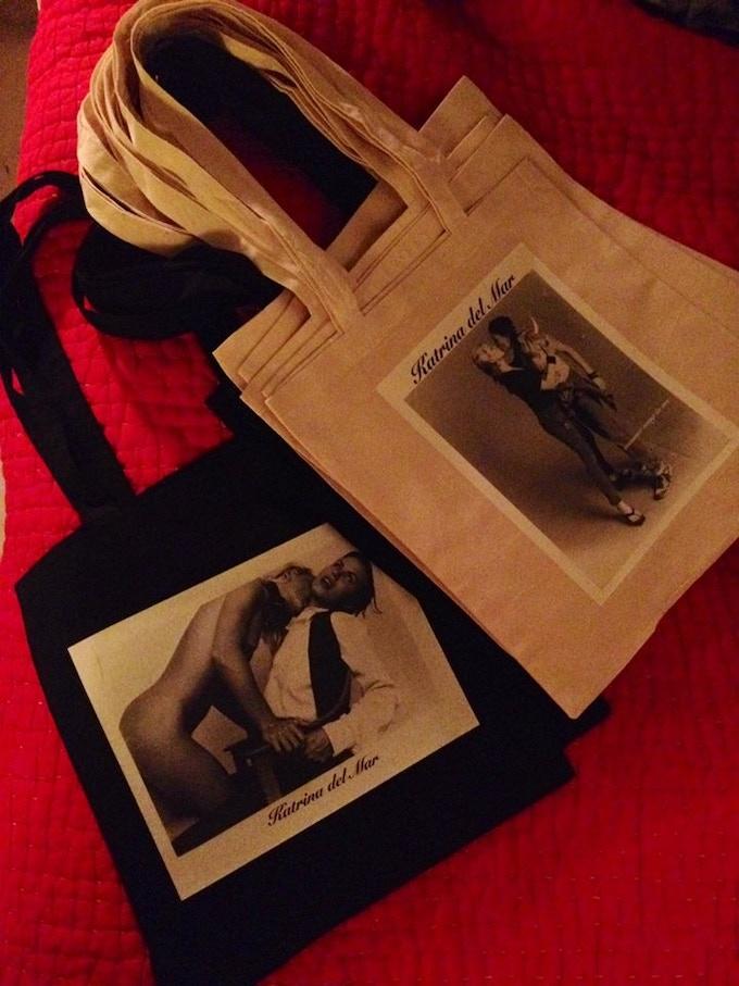 Katrina del Mar Tote bags a marvelous reward