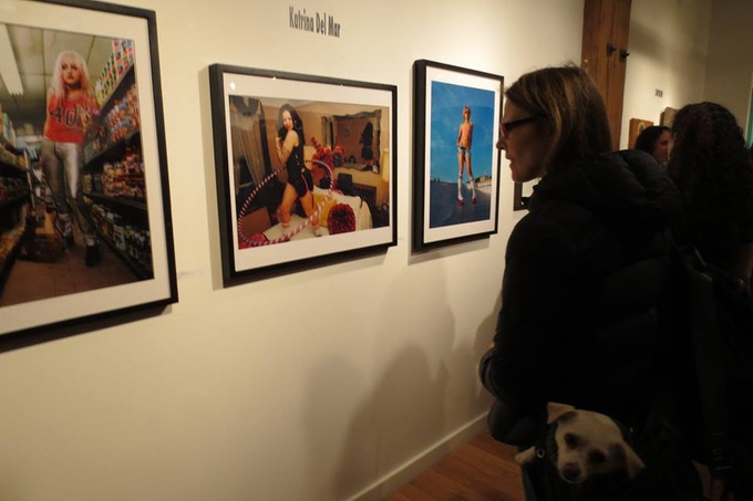 "full color chromogenic prints by Katrina del Mar on metallic paper 24x36"" an excellent reward"