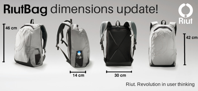 Here's how the RiutBag sizes up