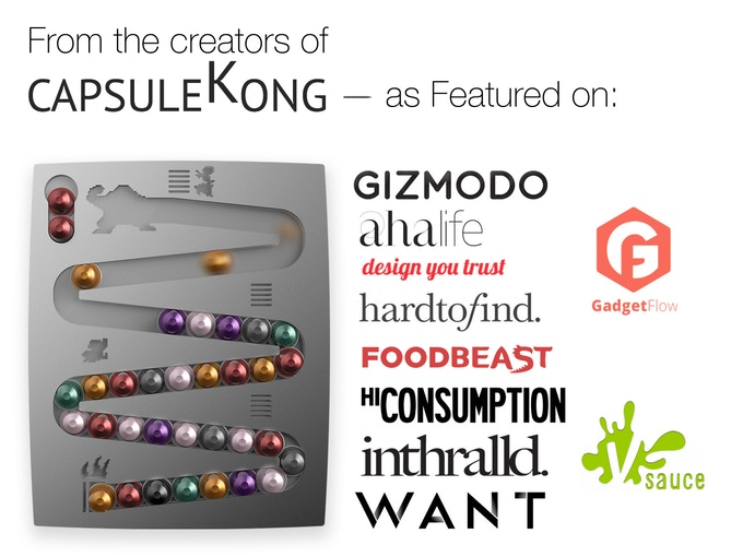 A huge 2014 success for us - CapsuleKong!