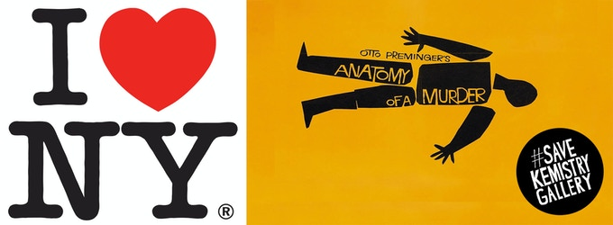 Milton Glaser and Saul Bass are just two of the design icons who have exhibited at Kemistry