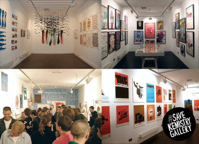 Just a few of the exhibitions at our soon-to-be gone Shoreditch home.