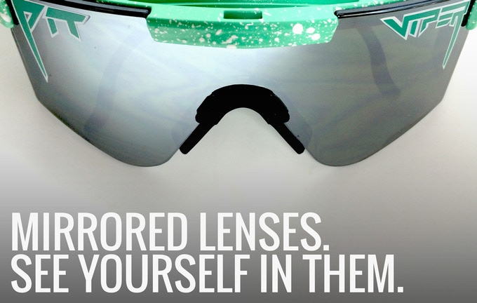 b00287e5ab We are now offering a mirrored lens option with every pair of Pit Vipers!  Any contribution level that includes a pair will have the option to get the  first ...