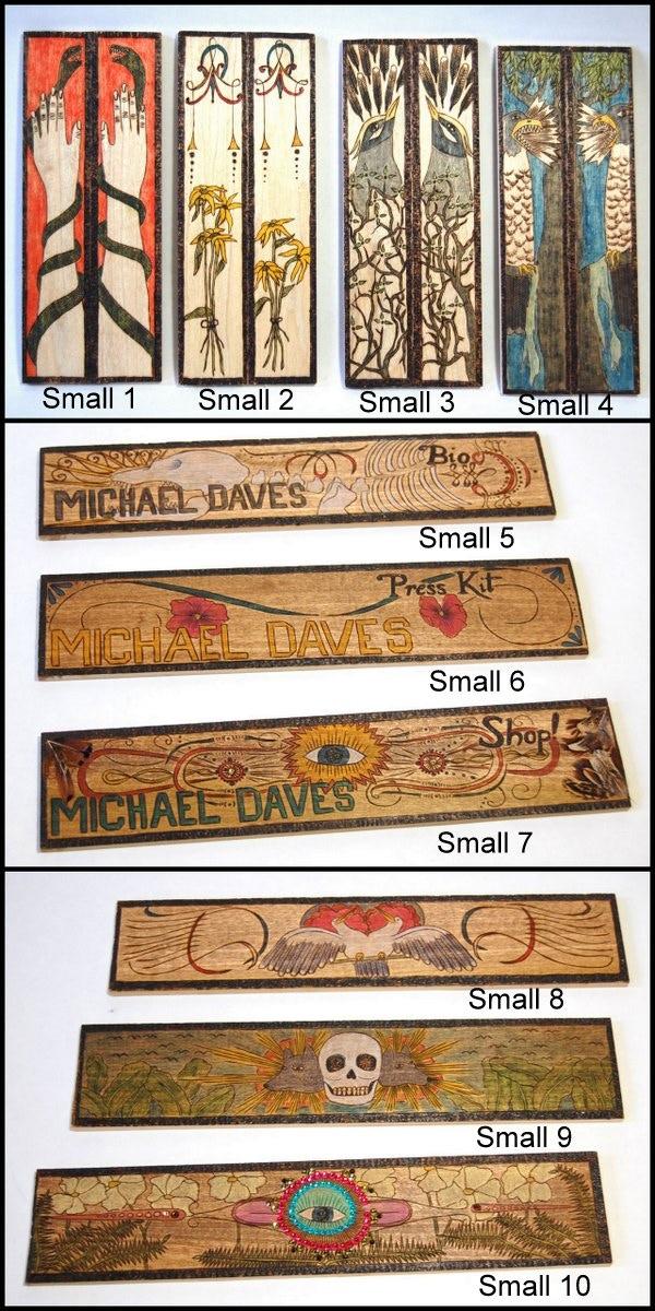 Woodburning images - small