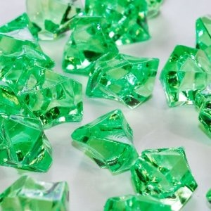 Cool Green Power Crystals