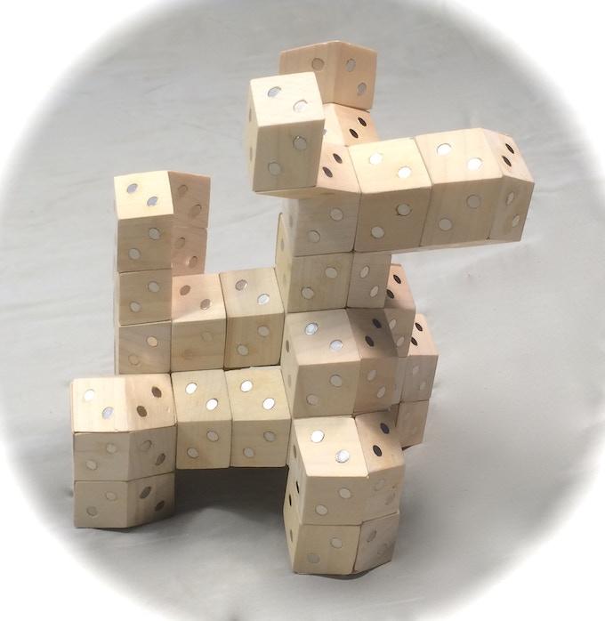 Rhombo the FACETS mascot
