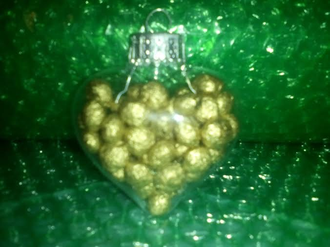 24 Carrot Heart Of Gold Ornament