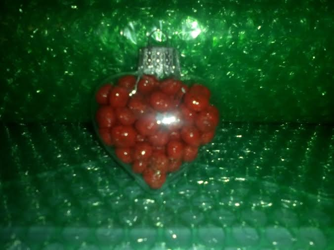 Ornament in Jolly Red