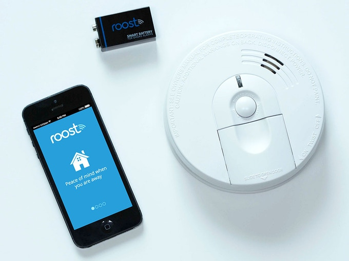 With an app and the Roost Smart Battery, your home just got smarter.