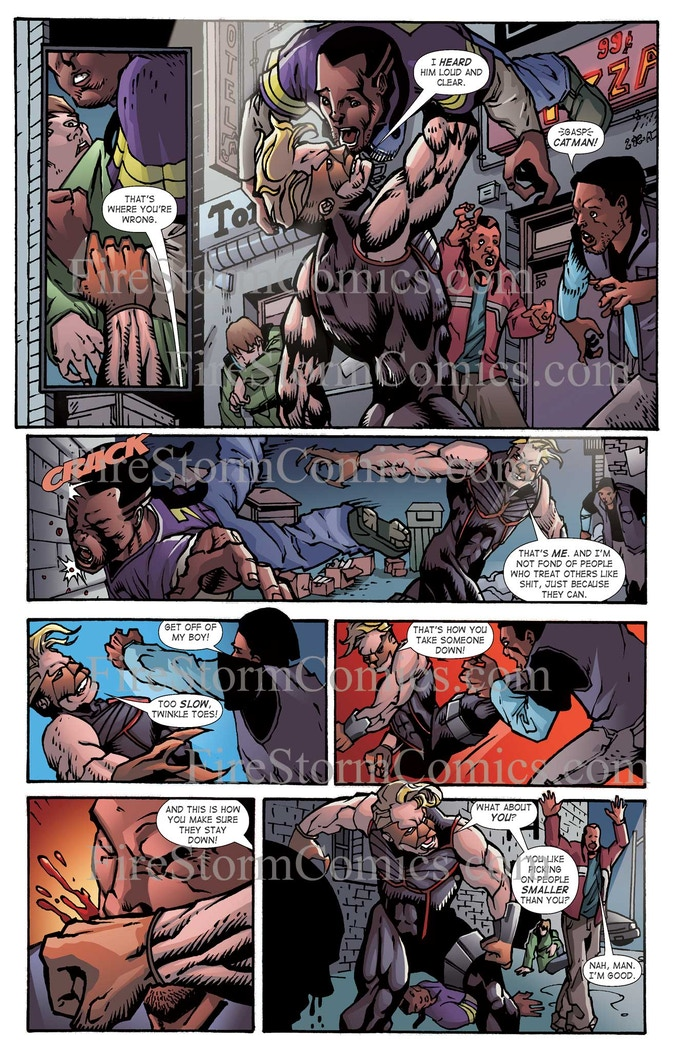 CatMan Evolution #1 - Page #3