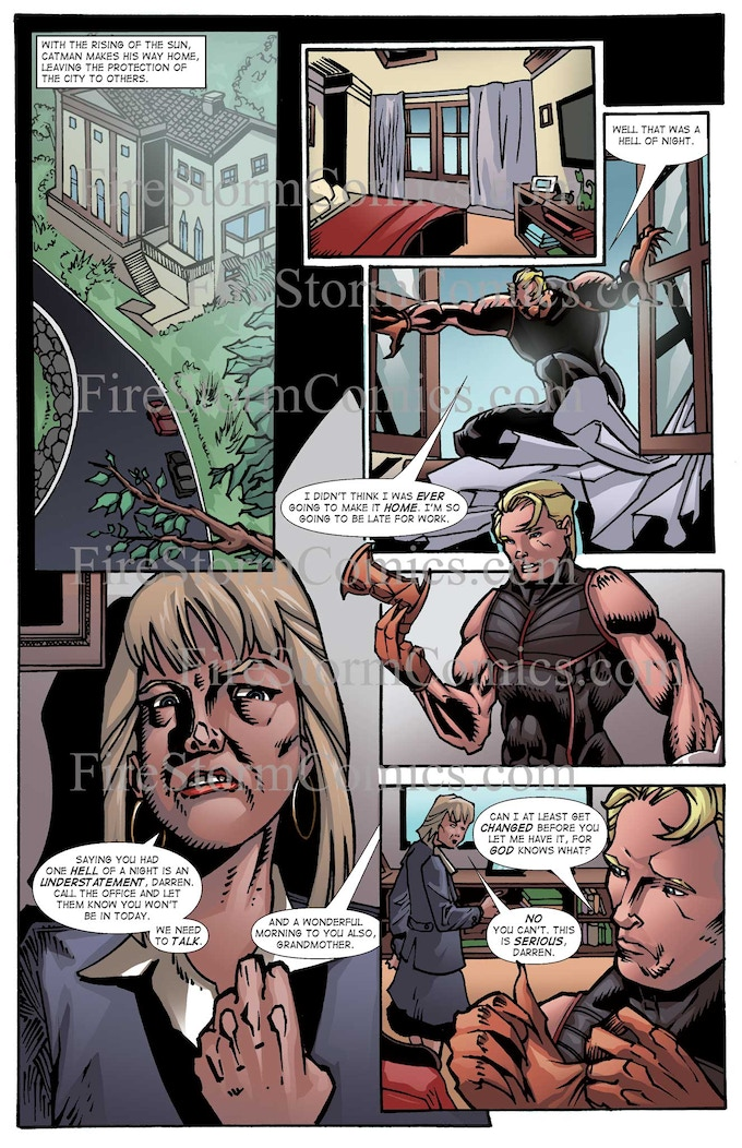 CatMan Evolution #1 - Page #5
