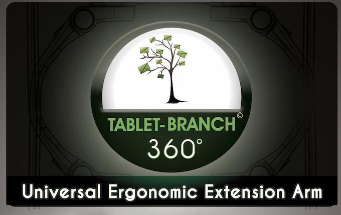 Tablet-Branch 360º - Universal Ergonomic Extension Arm For Tablets