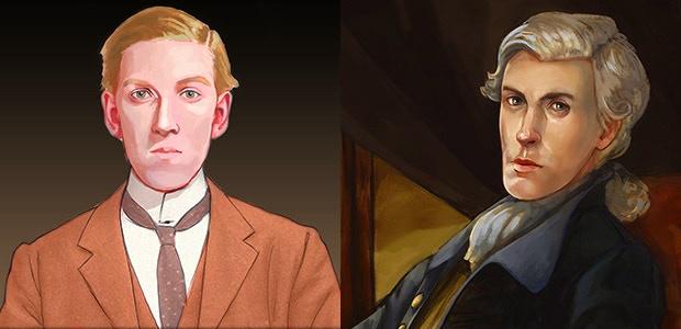 Charles Dexter Ward vs. Joseph Curwen.