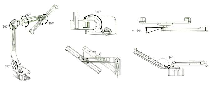 Tablet-Branch 360º Specs