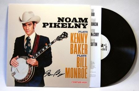 Noam Pikelny signed vinyl LP