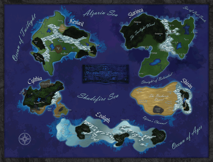 New Map Concept by Jen Page