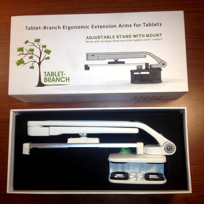 White Tablet-Branch in the box
