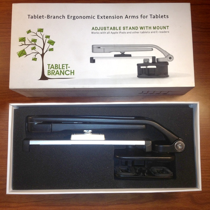 Black Tablet-Branch in the box