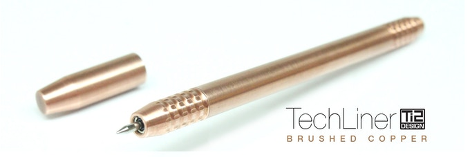Ti2 TechLiner Hand Brushed Copper