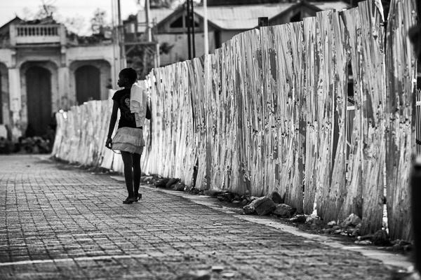 Girl in Haiti (image: James Kell)