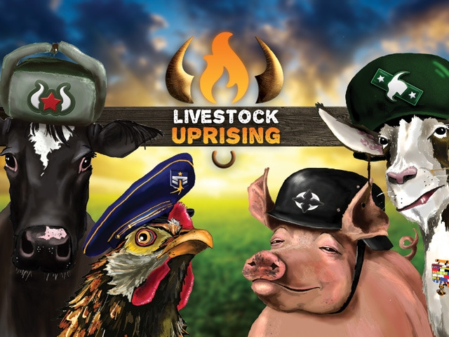 Livestock Uprising is a tactical resource management game where you harvest farmland, marshall animal armies, and battle for control of the farm.