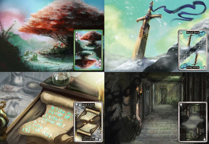 Assorted Backgrounds/Cards