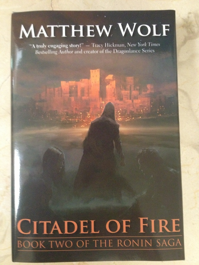 citadel of fire book two of the ronin saga the return by matthew