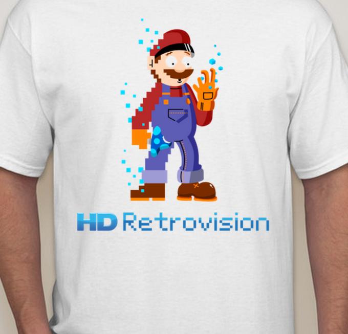 "HD Retrovision Shirt, featuring ""Marion"" (design by Tom Wysocki)"