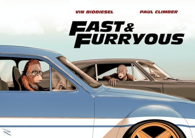 Fast & Furryous by Matt Rooke