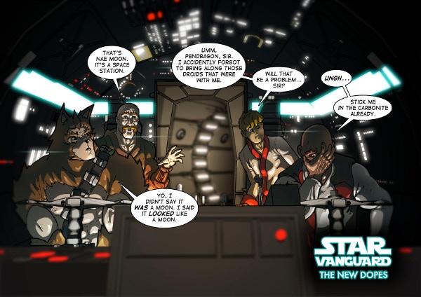 Star Vanguard by Dan Butcher