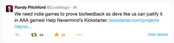 Nevermind: Biofeedback Horror Game by Erin Reynolds