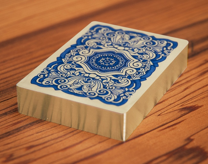 """""""Uusi Classic"""" Sterling Silver Gilded Deck"""