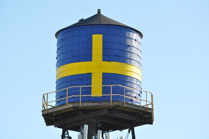 Swedish American Museum Water Tower
