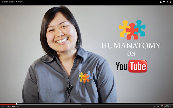 The Humanatomy Channel on YouTube