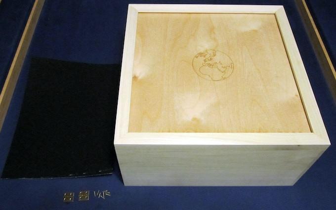 Sample storage box 'kit' for deluxe set
