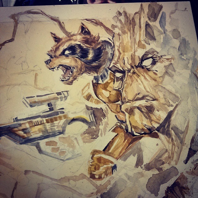 How about Rocket and Groot?