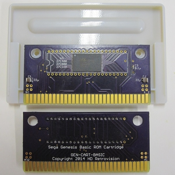 A 3D printed custom Genesis Cartridge