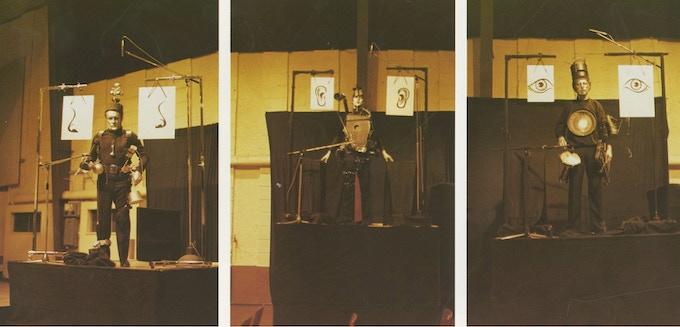 Kathinka's Gesang Percussionists, 1984 world premiere